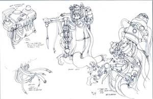 Necromech concepts 4 by DanNortonArt