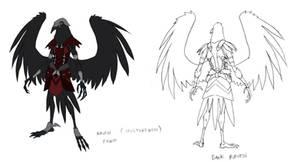 Ravenmen concept 1 by DanNortonArt