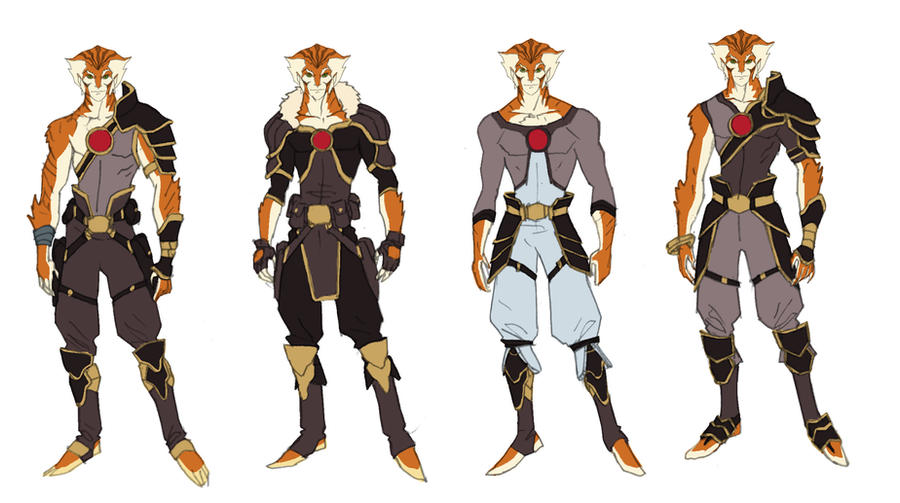 Tygra concept 3 by DanNortonArt