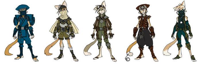 WilyKat costume alts
