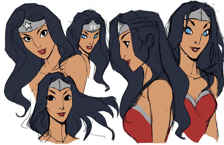 Wonder Woman fun by DanNortonArt