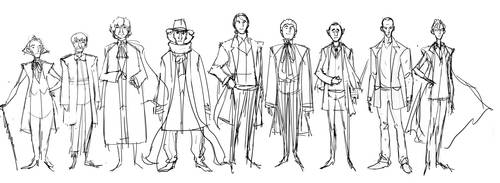Dr body roughs 1