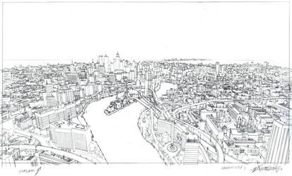 Faucett City 1 by DanNortonArt