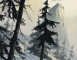 Summit sky by DanNortonArt
