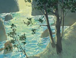 Tide Pool by DanNortonArt