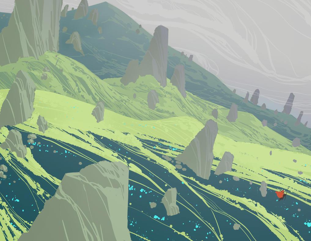 Spearfield by DanNortonArt