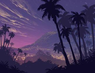 Island life by DanNortonArt