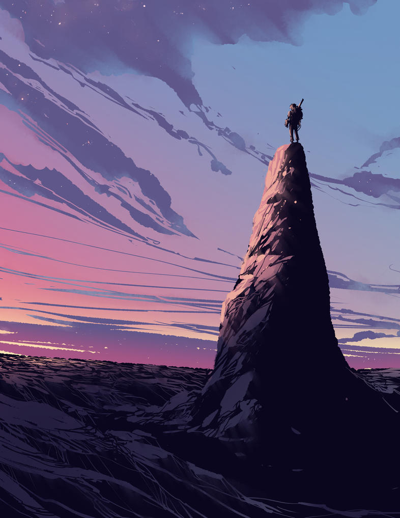 High Ground by DanNortonArt