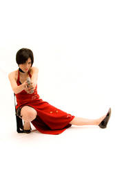 Ada Wong in action part II by pandorynha