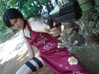 Ada wong Resident evil by pandorynha