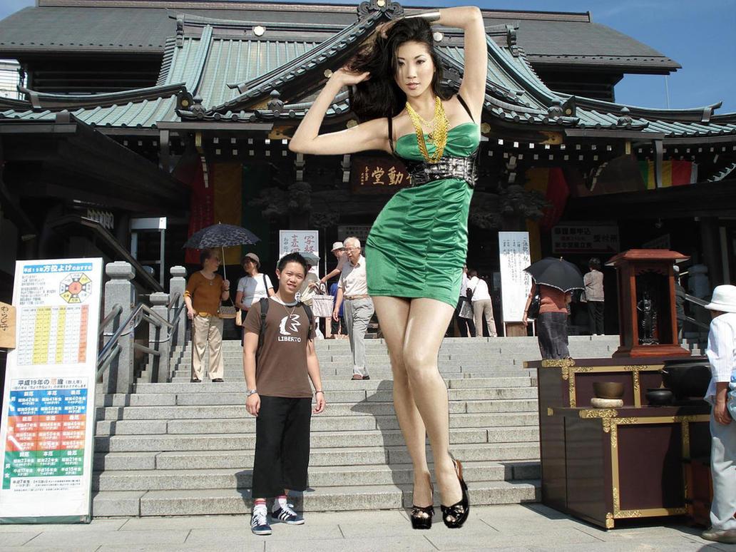 Hot giantess tall hentay clips