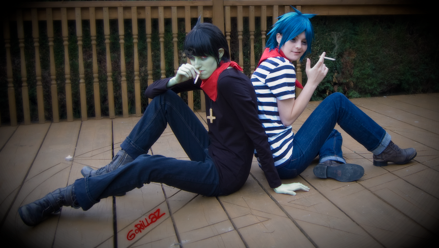 gorillaz life real noodle Real Gorillaz The back gorillaz cosplay In to Back Life