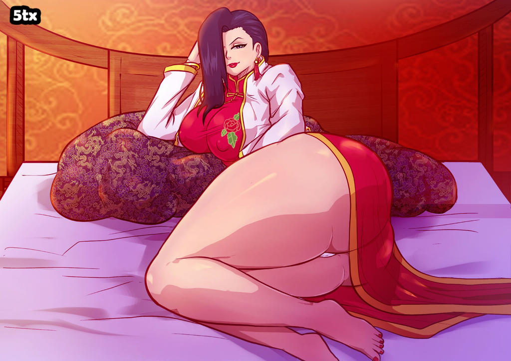 Shenhua from Black Lagoon - Commission by 5tarex