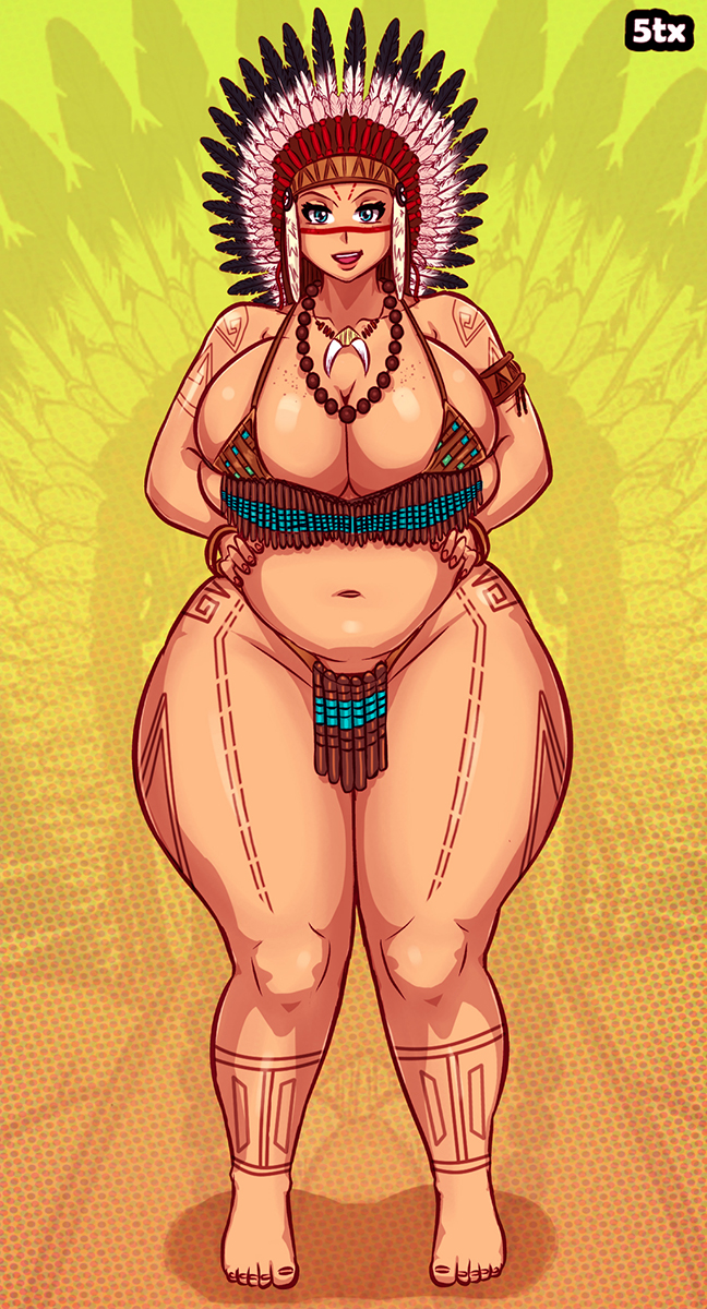 Kathy - Indian costume - Commission by 5tarex