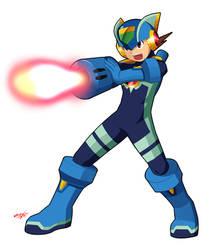 Megaman Cross fusion Shoot