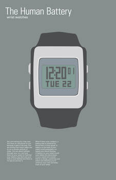 Human Battery Series Watches