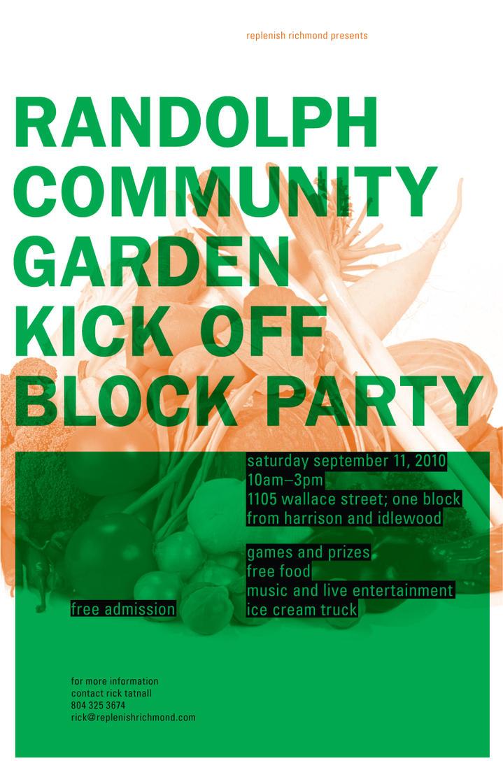 Community Garden Poster 2 by MrBadger on deviantART