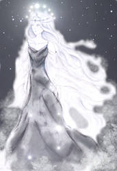 Varda, queen of stars by elbrethali