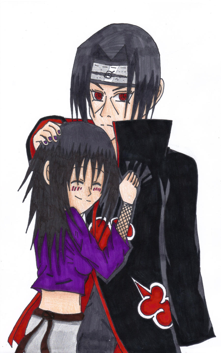 Itachi And A Fan Girl by RavenTheAngelofDarkn