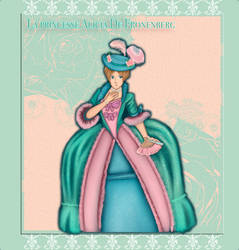 Rococo Themed Dress up by A-the-Shade