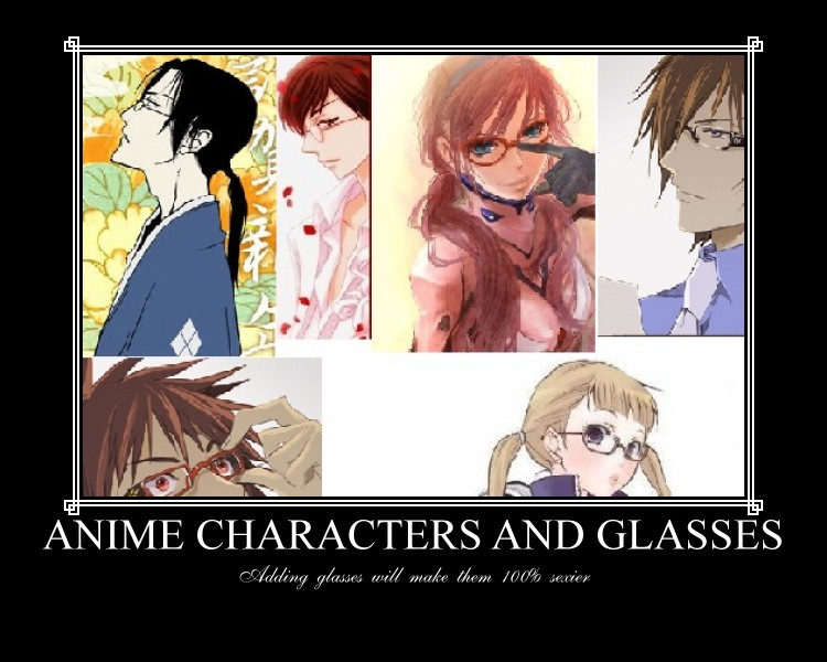 Anime Characters With Glasses : The gallery for gt male anime characters with brown hair