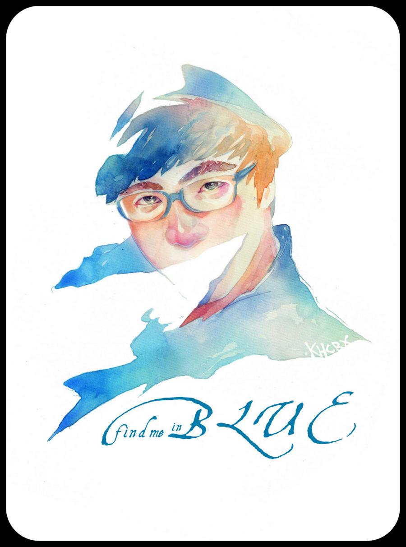 My Sweet Blue boy by KHCR9