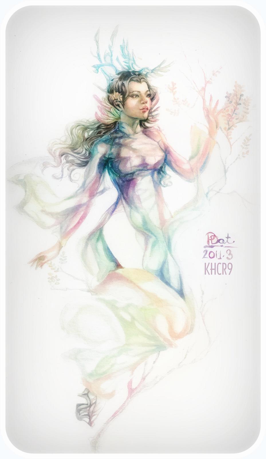 Rainbow goddess by KHCR9