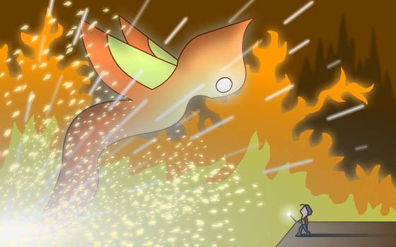 Giant Spirit - Fire