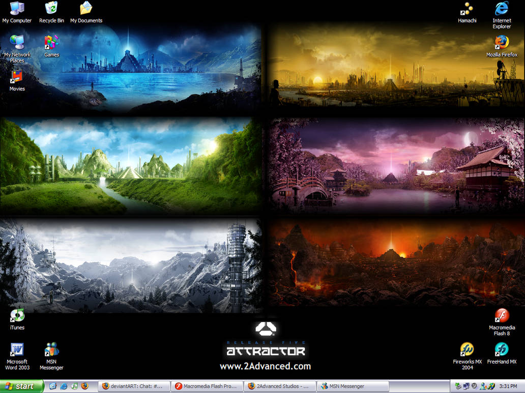 2Advanced Studios v5 Attractor