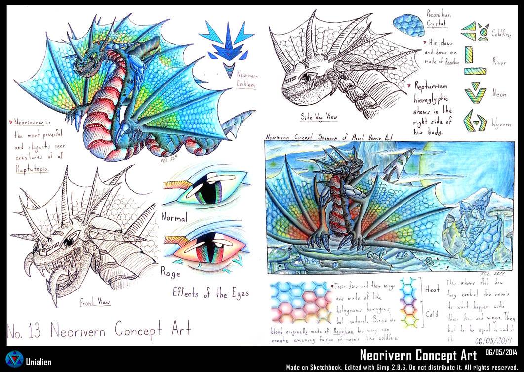 Neorivern Concept Art