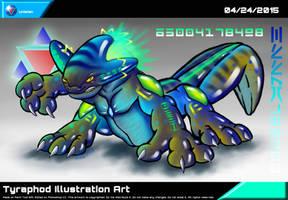 Tyraphod Illustration Art by Unialien