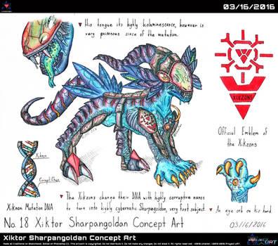 Xiktor Sharpangoldan Concept Art