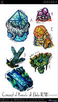 Concept of Minerals of Elelix XL481