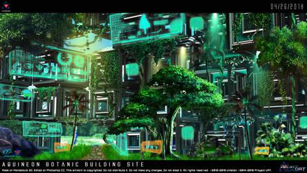 Aquineon Botanic Building Site