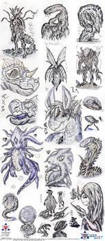 Sci-fi Designs Sketchdump