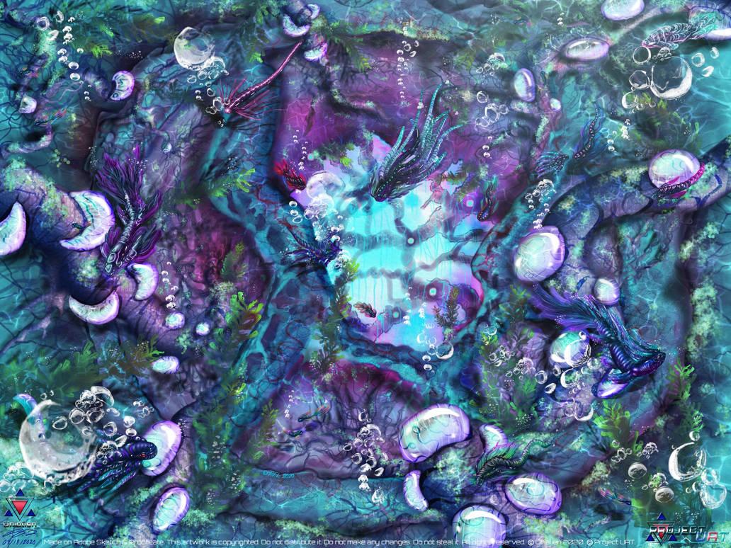 Azuryan Hole Reef by Unialien