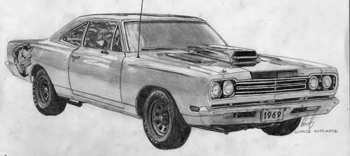 Plymouth Roadrunner 1969 by widowmaker440