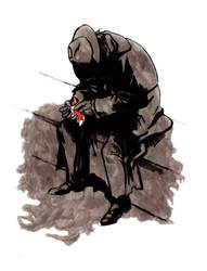 Gascoigne Bloodborne by widowmaker440