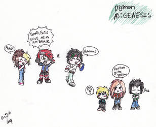Digimon re:GENESIS FanArt by LostVelverSkies