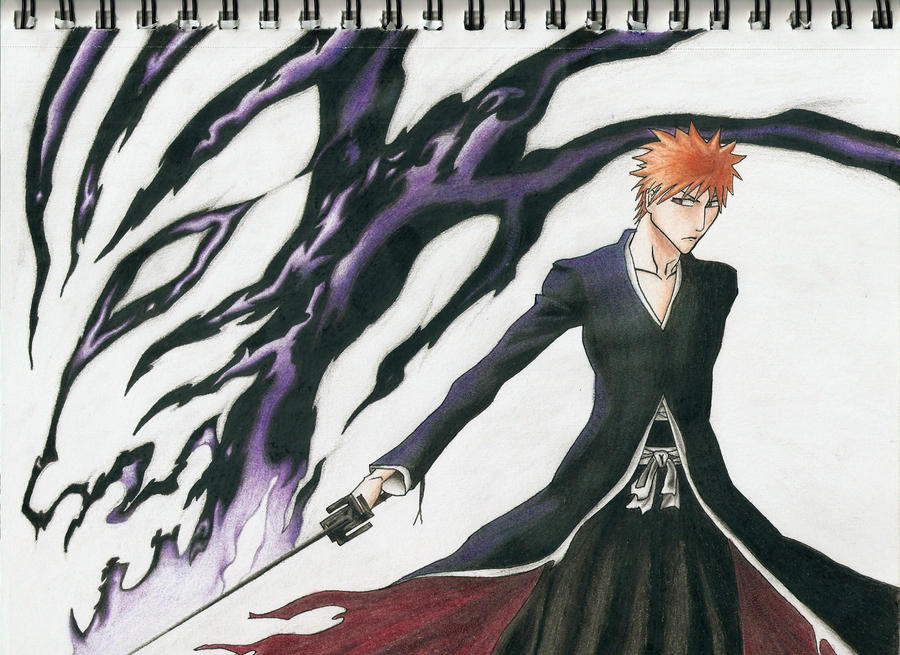 Ichigo's Bankai by 9Bleach6