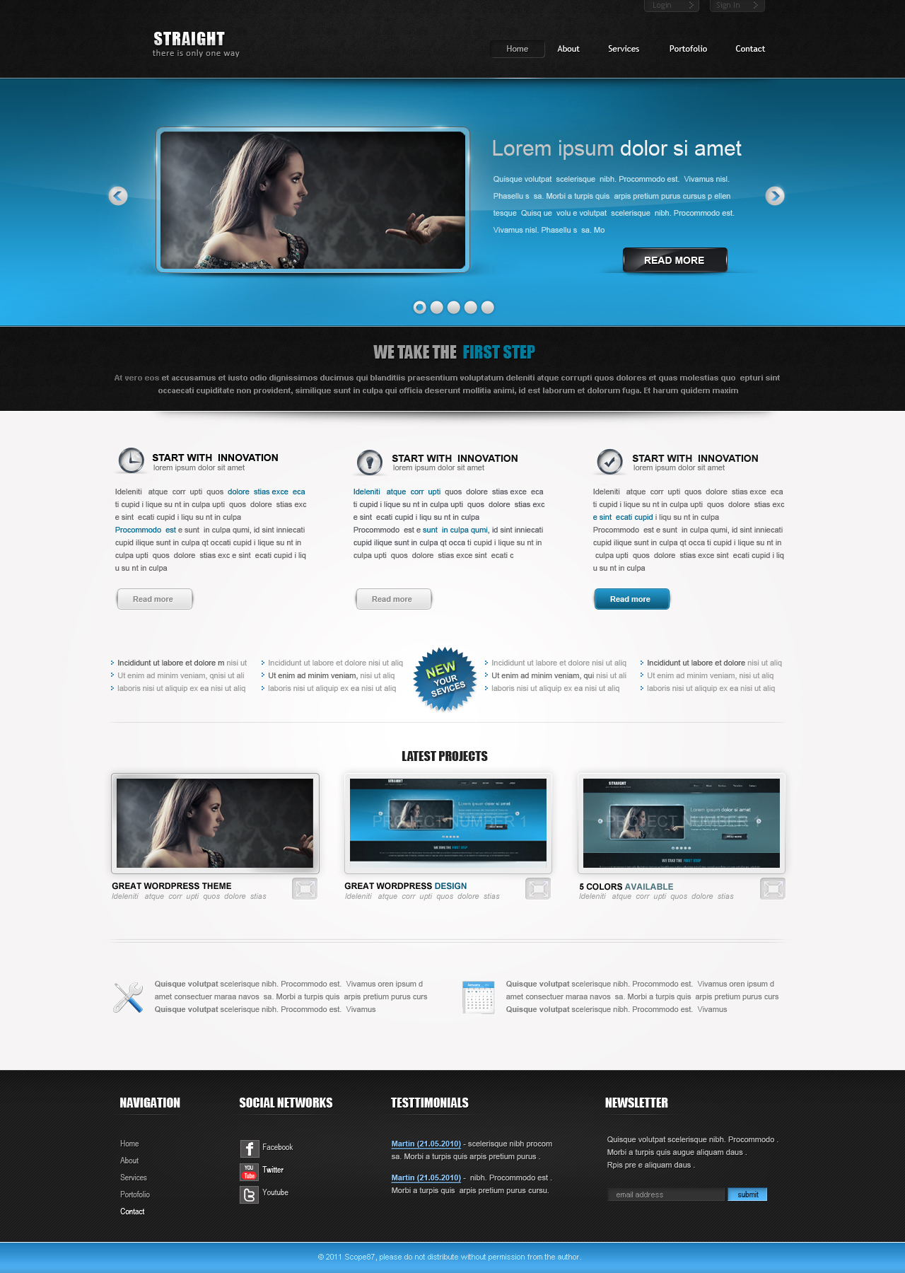WP Theme by 87scope