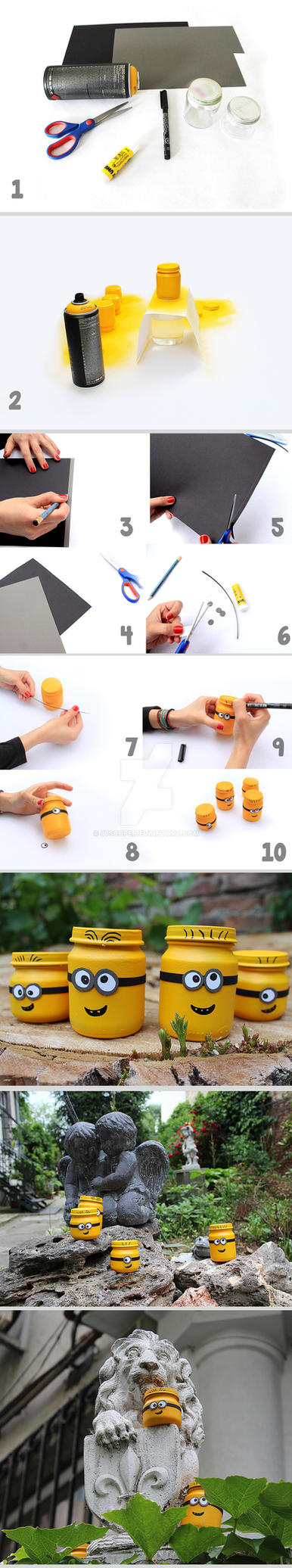 Tutorial: how to make minions from jars