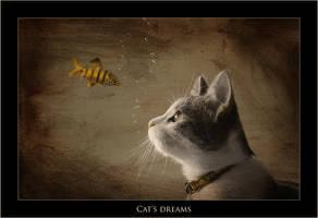 Cat's Dreams by Snailmeow