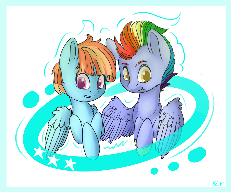 the gallery for gt rainbow dash parents
