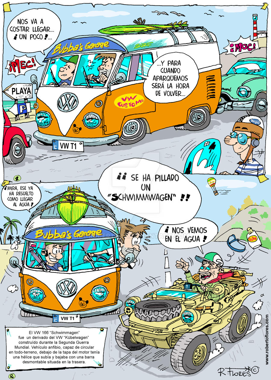 Comic  Super VW Magazine 39 by Roberto67