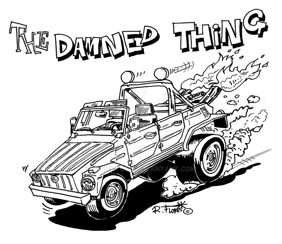 Vw Tipe 181 The Thing By Roberto67 On Deviantart