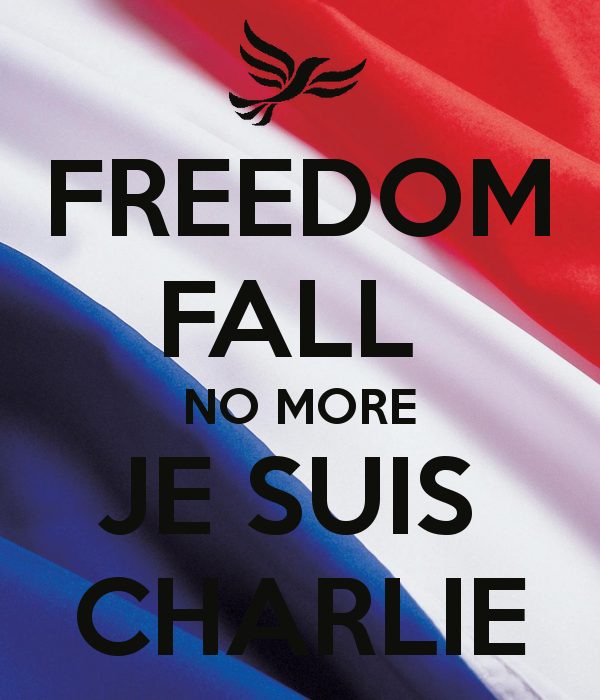 FREEDOM STAND JE SUIS CHARLIE by Teoma-The-Naraotor