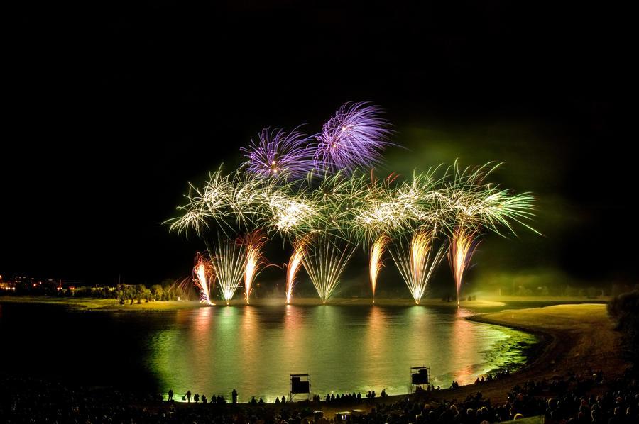 Fireworks I by CowtownHero