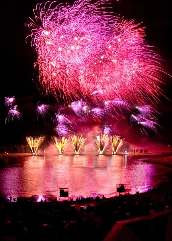 Fireworks II by CowtownHero