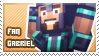 Gabriel fan stamp by StampsMCSM